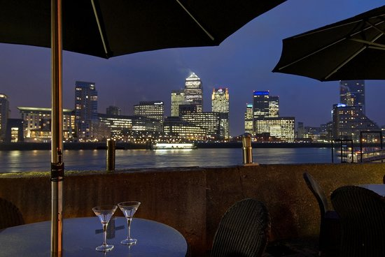 Hilton London Docklands : View from our Terrace