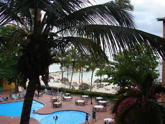 Don Juan Beach Resort: Vue de la chambre