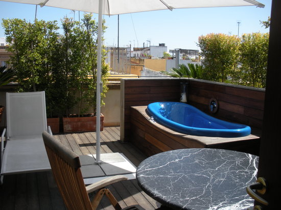 Hotel Casa 1800: wonderfull private terrace