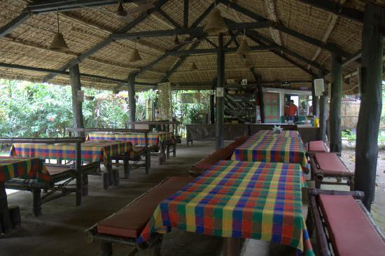 Nameri Eco Camp: Dining Area where food is served after it becomes cold.