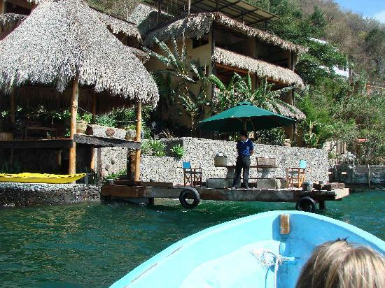Laguna Lodge Eco-Resort & Nature Reserve: From the boat