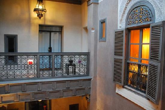 Riad Dar One: from first floor landing