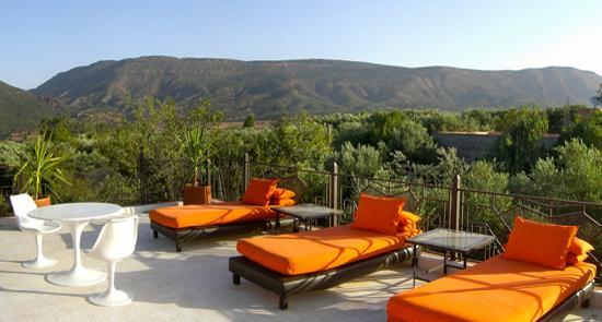DOMAINE MALIKA Atlas mountains Hotel: Solarium