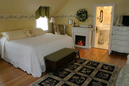 Richmond House Bed & Breakfast: Forget-Me-Not Room