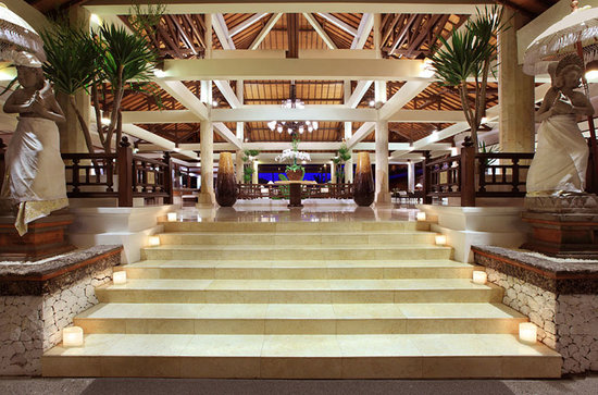 Melia Benoa: Hotel Lobby