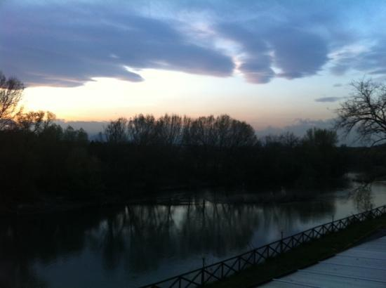 Moncalieri, Italy: view from our room