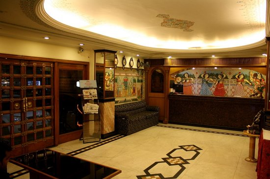 Hotel Shalimar: Lobby/Reception