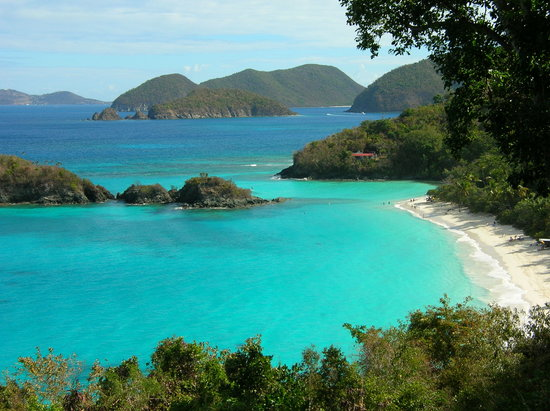 Samuels Cottages: Trunk Bay