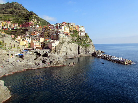 ‪‪Riomaggiore‬, إيطاليا: View of Mararola‬