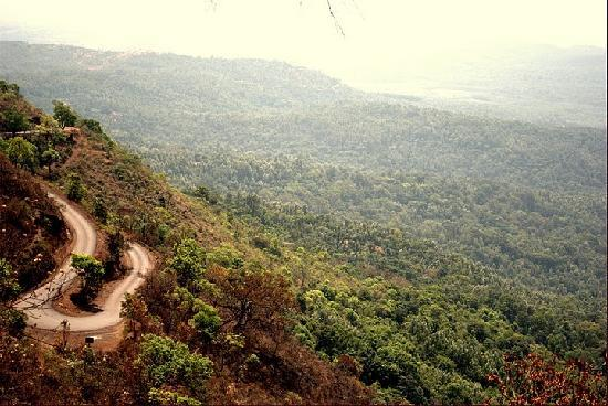 Chikamagalur, India: view from mulkangiri hill
