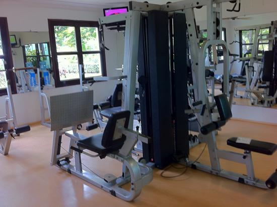 The gym room picture of hotel riu palace mexico playa