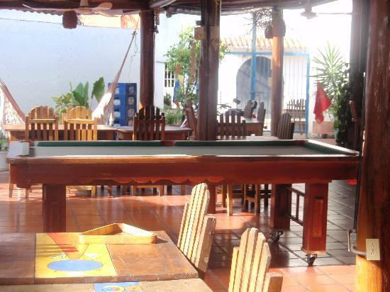 Hotel Patrick Bar and Pool Table