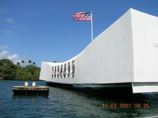 Hawaii: Visiting wat memorial