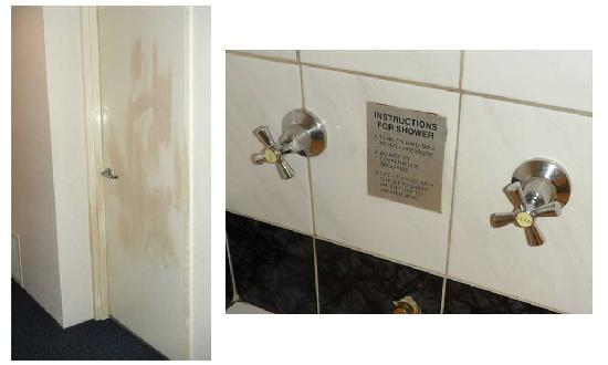 Quality Hotel Manor: I think this hotel needs to be spruced up. The plumbing is old (although functional). Here's the