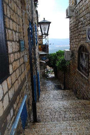 Streets of Safed, Israel