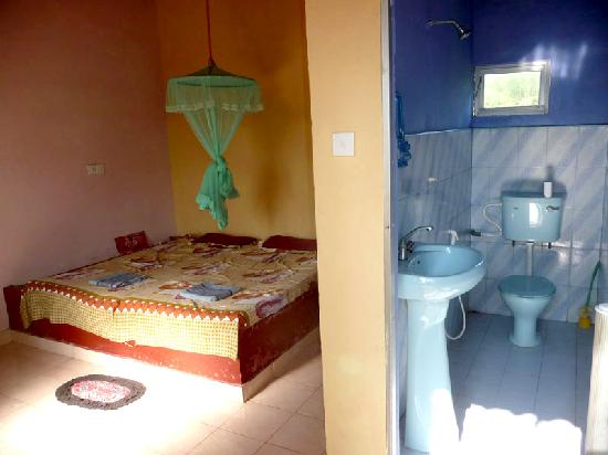 Sabine guest house cabanas picture of matara southern for Attached bathroom design