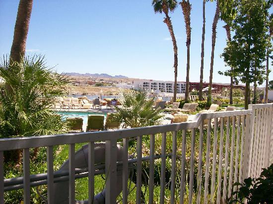 Golden Nugget Laughlin: view from our patio