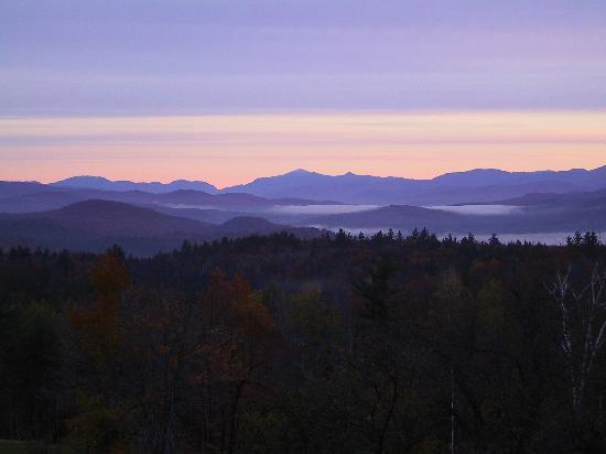 Bridgewater, NH: View to the North