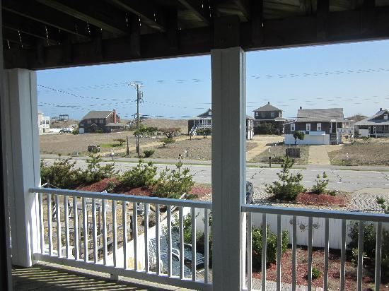 Sandbar Bed &amp; Breakfast : View from the deck of the Mermaid Room 