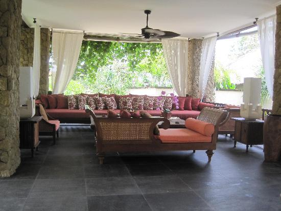 Villa Teresa: One of the two living areas
