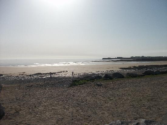 Porthcawl, UK : The beach at Trecco Bay