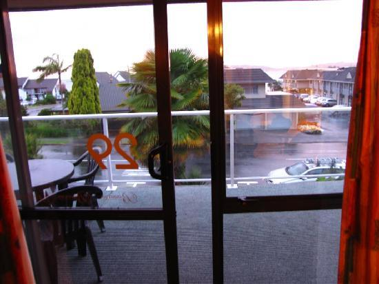 Paihia Central Motel: View from our room
