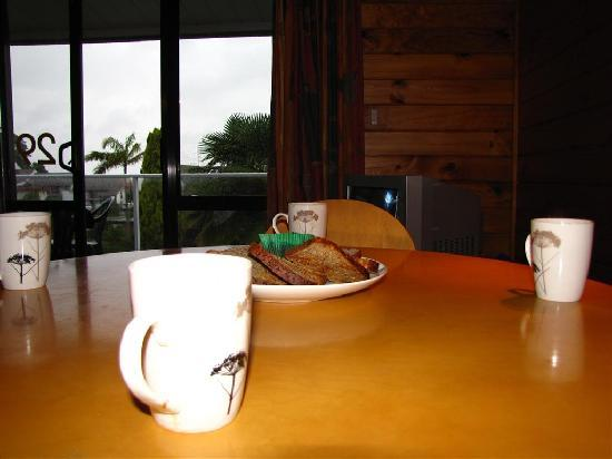 Paihia Central Motel: Coffe in the morning