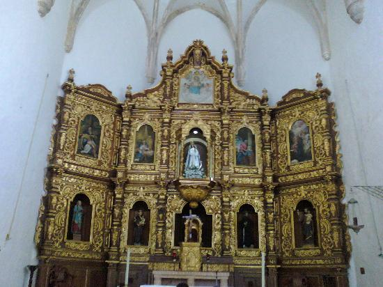 Izamal, Mexico: el atrio de la iglesia