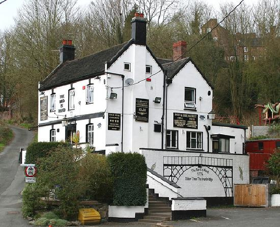 Ironbridge, UK: The Bird in Hand Inn