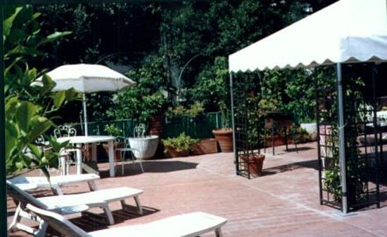 Hotel Il Bargellino: Our terrace!