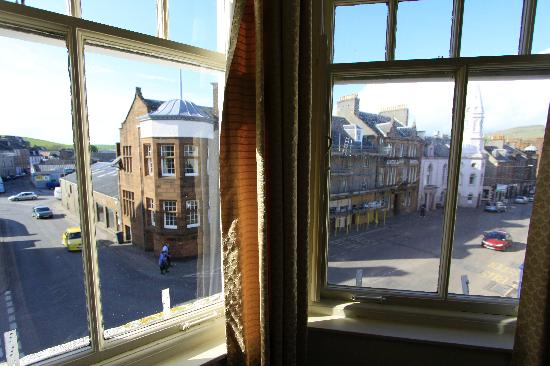 White Hart Hotel: View from my window