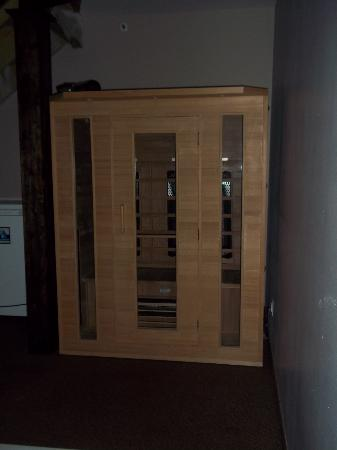 Perrysburg, OH: our own two person dry sauna