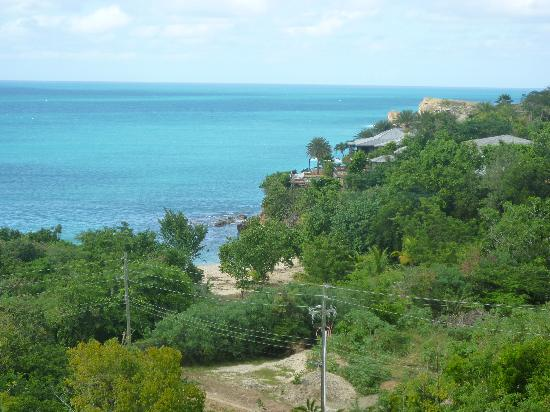 Galley Bay Cottages: the view from our cottage
