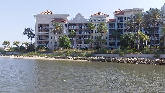 Yacht Harbor Village at Hammock Beach: View from a boat