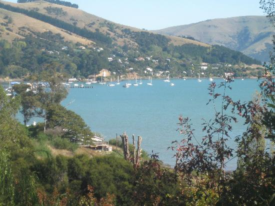 Akaroa Cottages - Heritage Boutique Collection: the view