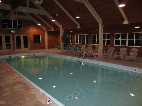 Swan Mountain Resort: Indoor Pool