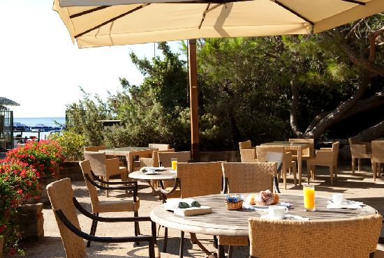 Park Hotel Zibellino: Snack-bar near the beach