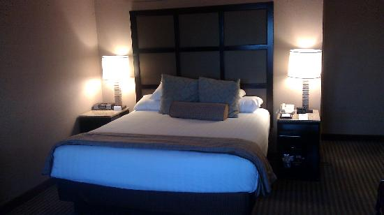Hyatt Regency Greenville: View of bed