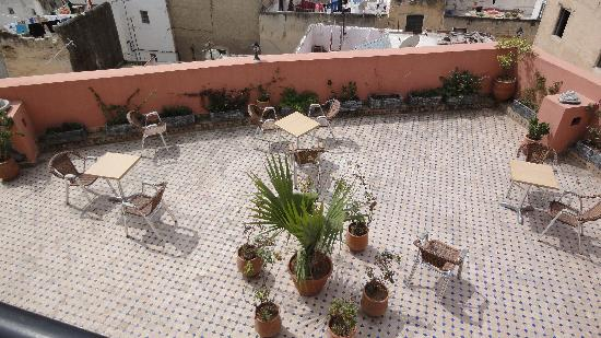 Lower Roof Terrace on Hotel Bab Boujloud