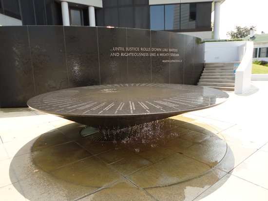 , : Montgomery Civil Rights Memorial