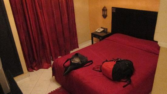 Hotel Mont Gueliz: Double bed