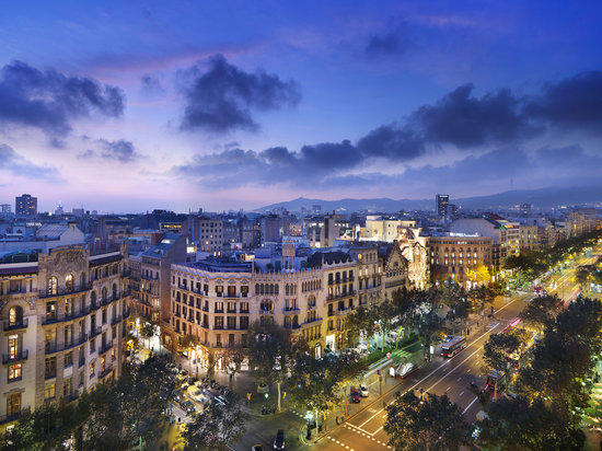 Mandarin Oriental, Barcelona: Views from the Rooftop