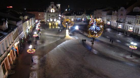 Rzeszow, Polonia: View from my room at Christmas