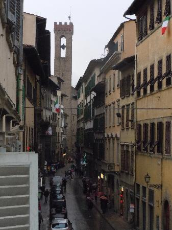 Bed and Breakfast di Piazza del Duomo: View of the Bargello from the balcony