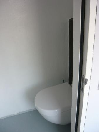 Hotel Mozaic Den Haag: Toilet was very clean, and in the opposite corner from the shower