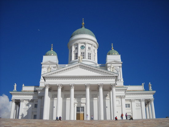 Helsingfors, Finland: The Helsinki church