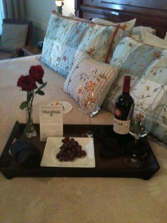 Henderson Park Inn: this was waiting foor us on arrival