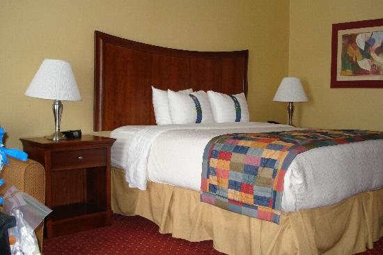 Holiday Inn Rocky Mount I-95 @ US 64 : the bed 