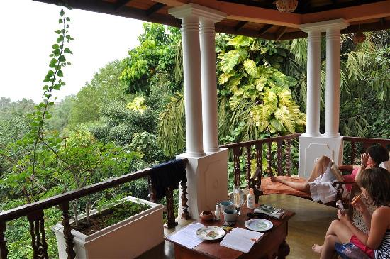 Thambapanni Retreat: the vieuw from the highest room