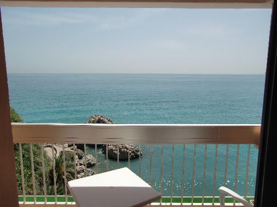 the balcony view picture of hotel balcon de europa nerja tripadvisor. Black Bedroom Furniture Sets. Home Design Ideas